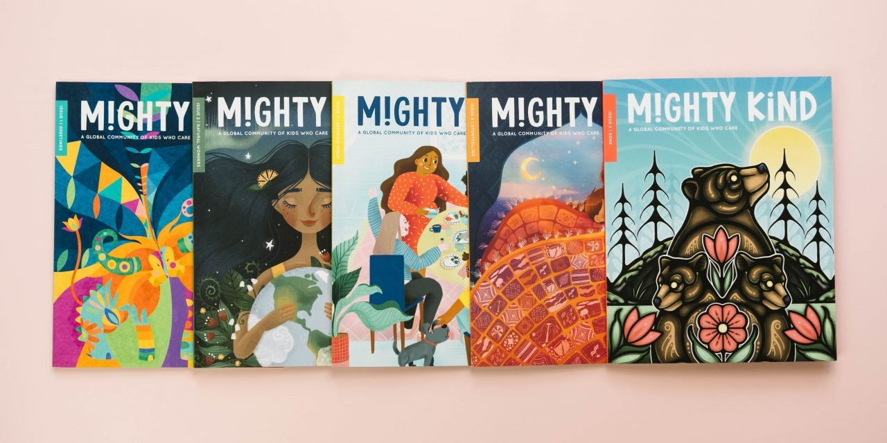 Mighty Kind – Inspiring a Global Community of Kids Who Care